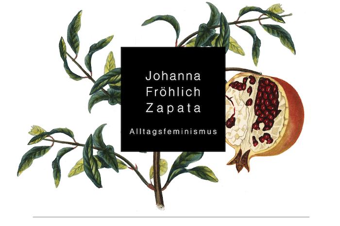 Das Logo von Johanna Fröhlich Zapata, gestaltet von Helen Perkunder.